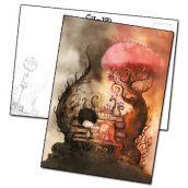 Carte postale couverture Coeur de pierre par Jérémie Almanza