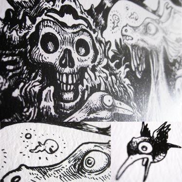 Détail illustration de l'affiche Forest