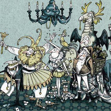 Détail illustration Parade de Noël