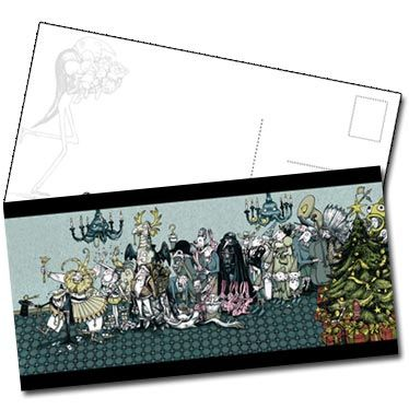 Carte postale Parade de Noël de Lionel Richerand