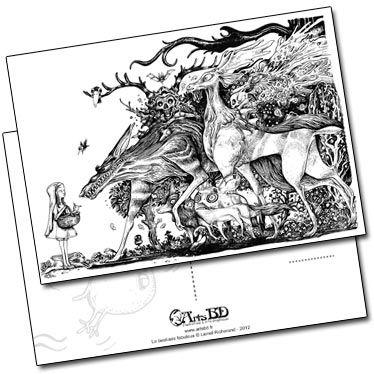 Carte postale Forest de Lionel Richerand