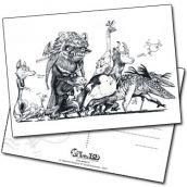 Carte postale Les Krakaouins de Lionel Richerand