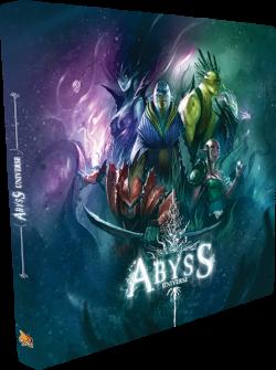 Couverture du artbook Abyss aux éditions Bombyx