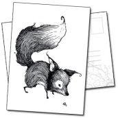 Le renard illustration tirée des carnets de Benjamin Basso