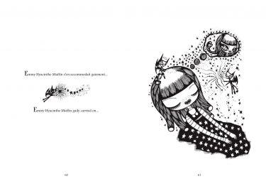 double page de chat siamois noir et blanc
