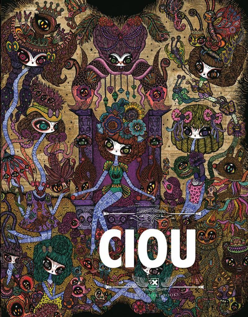 Couverture du artbook de Ciou