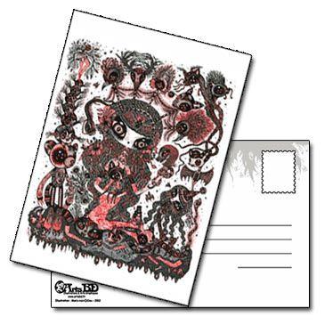 Carte postale Engrave Spirit into the Flesh de Ciou