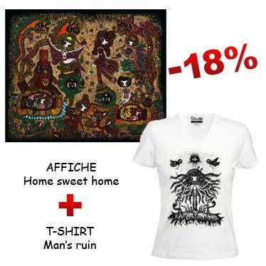 Offres groupées t-shirts et affiches
