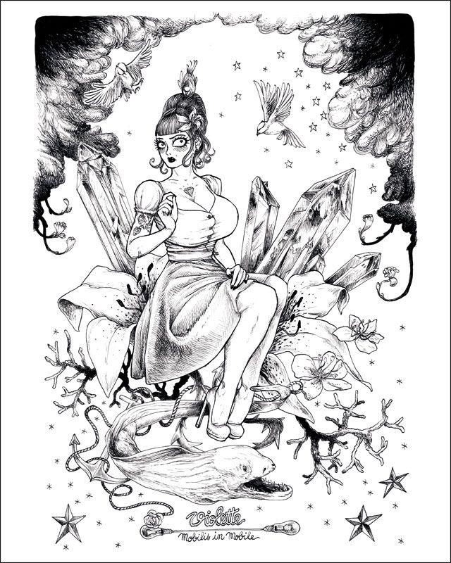 Affiche du personnage Violette de François Amoretti