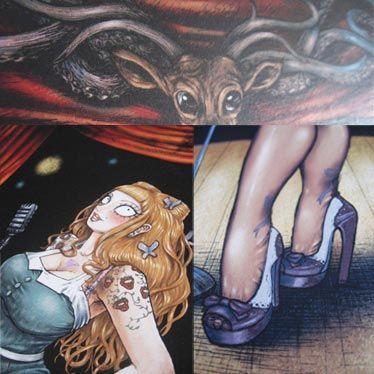 Affiche couverture Tome 1 Burlesque Girrrl de François Amoretti