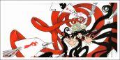 Affiche de François Amoretti Sumire aspirée dans la spirale