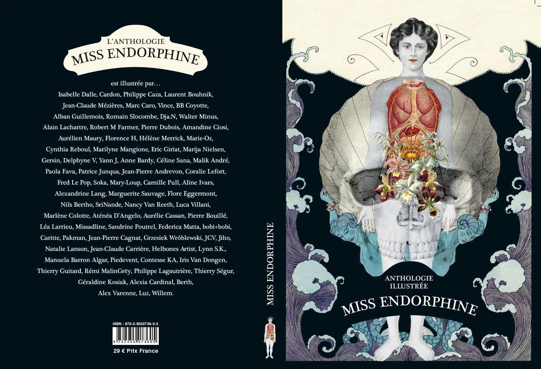 La première et quatrième de couverture de Miss Endorphineuvdos