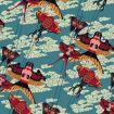 Cerfs-volants en forme d'oiseau sur ciel bleu de Nancy Peña