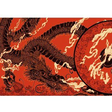 Thé du dragon, de Nancy Peña l'illustration