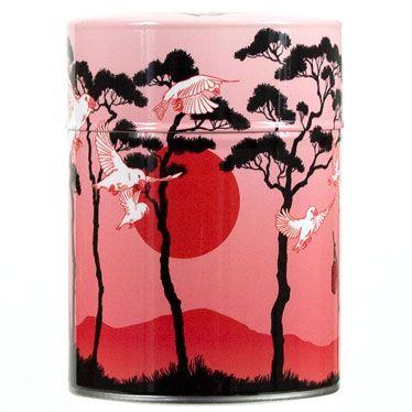 Boîte à thé Matsu par Nancy Peña