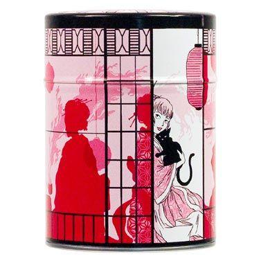 Boîte à thé Le pavillon du thé de Nancy Peña