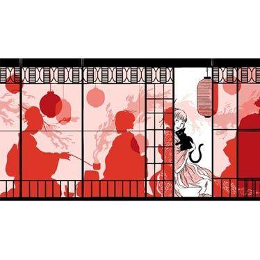 Boîte Le pavillon du thé l'illustration