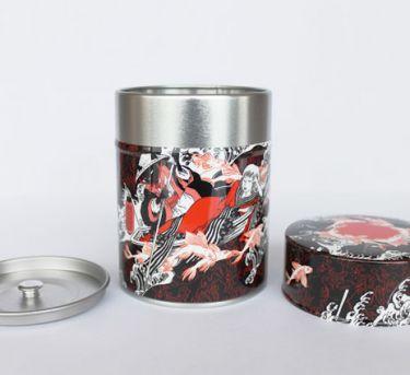 Boite à thé Poissons volants
