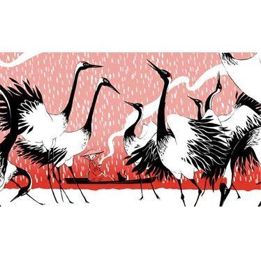 Boite à thé Tancho de Nancy Peña l'illustration