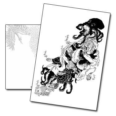 Carte postale La Femme Pieuvre de Nancy Peña