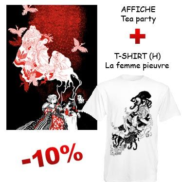 Affiche d'art et t-shirt design par Nancy Peña