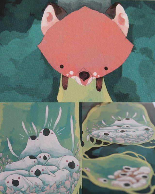 Détails d'impression de l'affiche Les Lapins Surpris