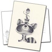 Sympathique raton laveur de Yohan Sacré
