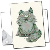Chat angora et oreille cassée par Yohan Sacré