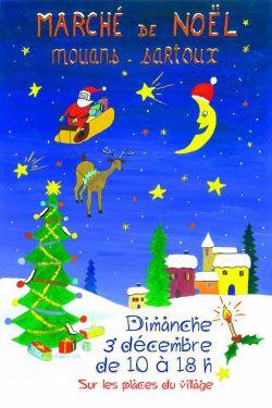 Marché de Noël de Mouans-Sartoux dimanche 3 décembre 2017