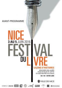 Affiche du festival du livre de Nice 2016_2016