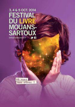 Affiche du 24eme festival du livre de Mouans-Sartoux