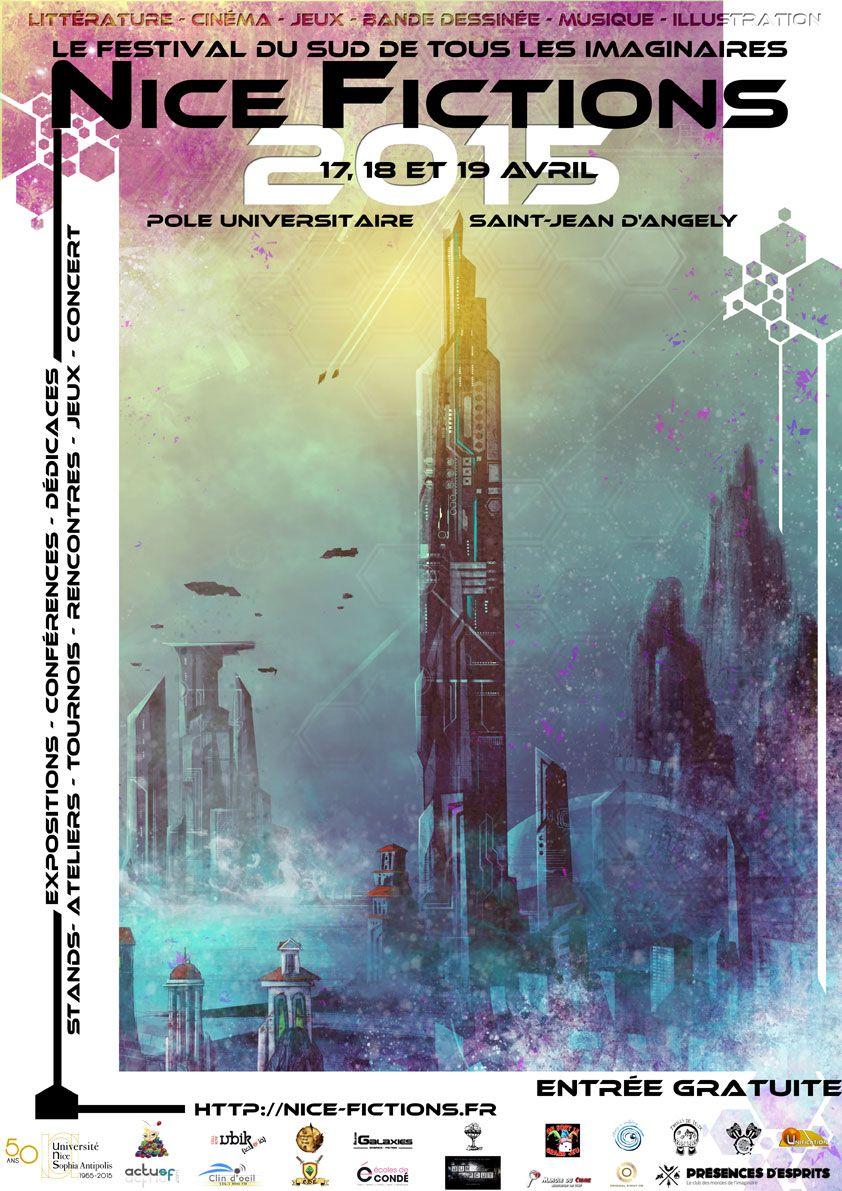 affiche du festival Nice Fictions 2015
