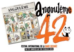 Affiche festival BD Angoulême 2015