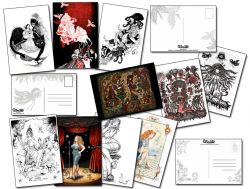 Lots de carte postales