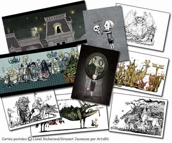 Cartes postales de Lionel Richerand