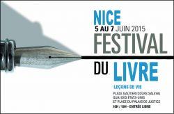 Affiche du festival du livre de Nice 2015