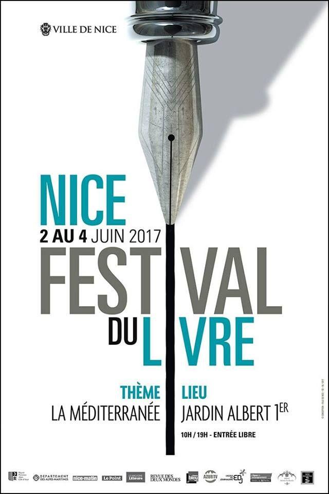 Affiche du festival du livre de Nice 2017