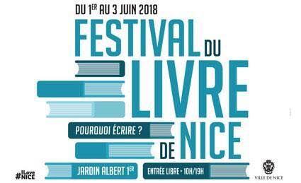 Affiche festival du livre de Nice 2018
