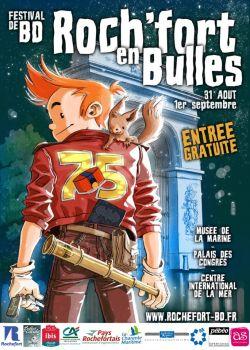 Affiche du Festival de BD de Rochefort