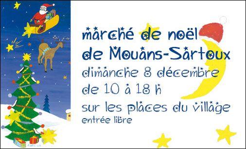 Marché de Noël de Mouans-Sartoux