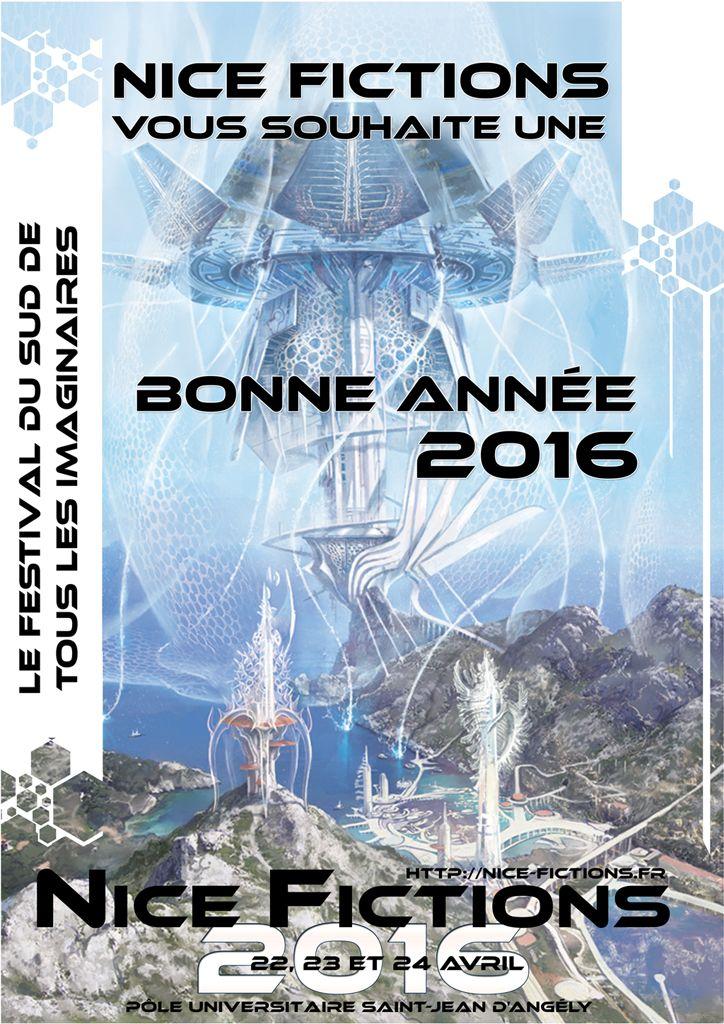 Affiche du festival Nice Fictions