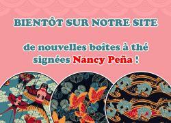 Nouvelles boîtes à thé de Nancy Peña