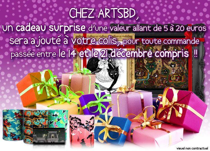 Cadeau de Noël surprise !