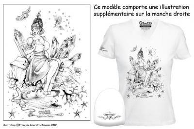 Nouveau t-shirt et affiche de François Amoretti