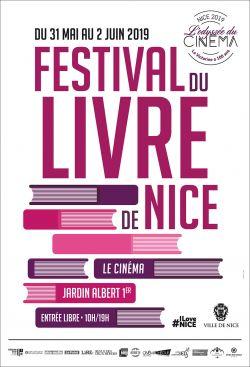 Affiche du festival du livre de Nice 2019